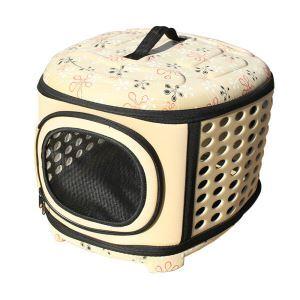 EVA Pet Carrier Travel Puppy Cat Bag for Pets Yellow L