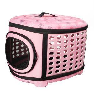 EVA Pet Carrier Travel Puppy Cat Bag for Pets Pink M