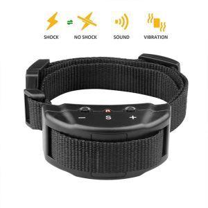 Anti Bark Training Collar Automatic Trainer Stop Bark Device Battery Power