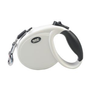 Retractable Dog Leash 8.2 Feet for Cat Dogs White