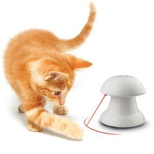 Cat Toy Automatic Rotating Laser Interactive Exercise Toy Cat Training Tool