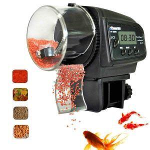 Digital Automatic Fish Feeder Aquarium Fish Feeder Auto Food Timer Feeder