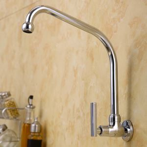 Chrome Swivel Spout Faucet  1102
