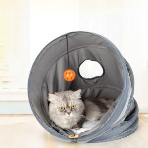 Pet Cat House Tent Multifunctional Pet Tunnel Pet Toy