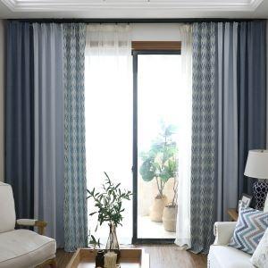 High Blackout Curtian Living Room Nordic Minimalist Window Curtain Panel