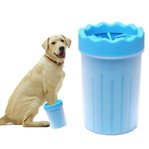 Portable Dog Paw Cleaner Dog Feet Cleaner Pet Cleaning Brush Cup