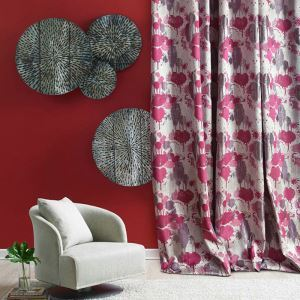 Environmental Friendly Curtain American Modern Thick