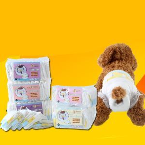 Pet Diaper Female Dog Disposable Physiological Pants 10 Pcs