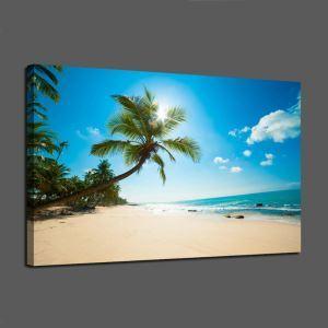 Frameless Oil Painting Summer Seaside Modern Minimalist Canva 12