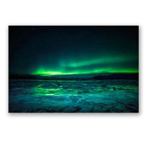 Frameless Oil Painting Aurora Modern Minimalist Canva 12