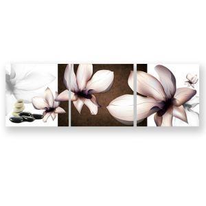 Frameless Oil Painting Flowers Modern Minimalist Canva 12
