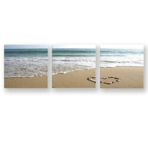 Frameless Oil Painting Seaside Modern Minimalist Canva 12