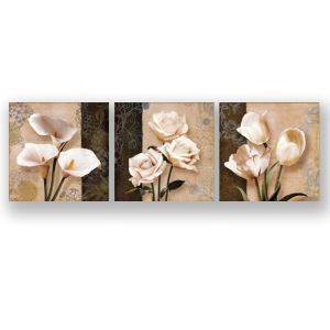 Frameless Oil Painting Flowers Modern Minimalist Canva 12