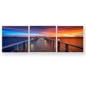 Frameless Oil Painting Trestle Modern Minimalist Canva 12