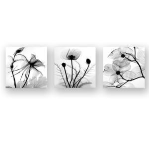 Frameless Oil Painting Flower Modern Minimalist Canva 12
