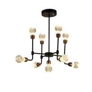 Modern Simple Antique Ceiling Light Crystal Stoving Varnish Ceiling Light Living Room Dining Room Bar Light