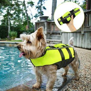 Pet Airbag Life Jacket Dog Inflatable Folding Swimsuit