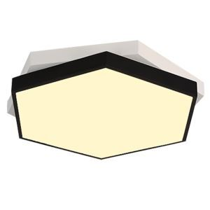 Flush Mount LED Ceiling Light Modern Simple Metal + Acrylic Baking Paint LED Ceiling Light Energy Saving