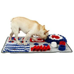 Pet Sniffing Cushion Bite-resisting Intellectual Cushioin Environment Protective Slow Feeder Training Mat