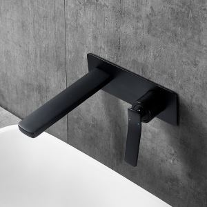 Vessel Bathroom Faucet Wall Mount Hot and Cold Water Dispenser