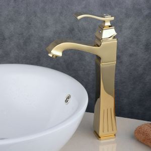 Contemporary Sink Faucet Ti-PVD Sink Faucet Single Handle Tap BL6311HG