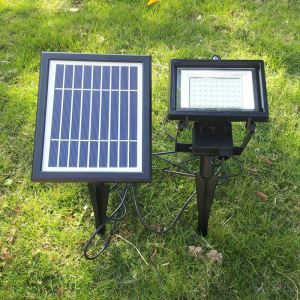 Solar Powered Landscape Light LED Ground Pathway Light LEH-53414B-Insert