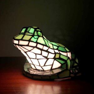 Animal Lamp Animal Style Frog Tiffany Table Lamp