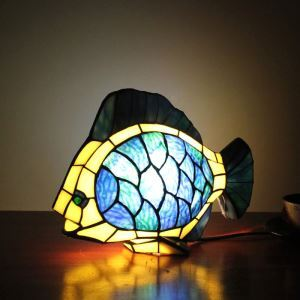 Animal Lamp Animal Style Goldfish Tiffany Table Lamp