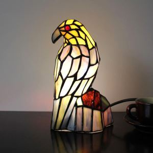 Animal Lamp Animal Style Little Bird Tiffany Table Lamp