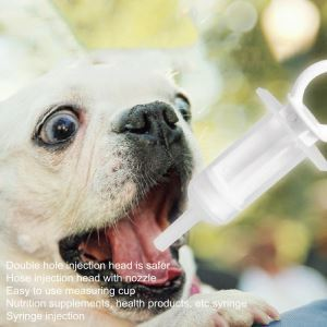 Pet Anti-choke Milk Feeder Soft-head Silica Gel Nipple Safe Feeder