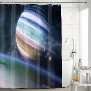 Creative Waterproof Shower Curtain Cool Lifelike 3D Digital Printed Bath Curtain