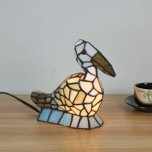 Animal Lamp Animal Style Toucan Tiffany Table Lamp