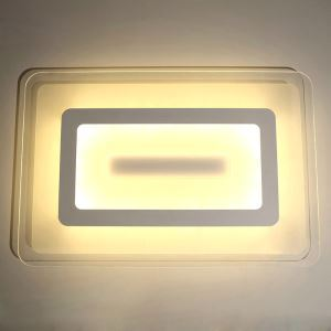 LED Ceiling Light Living Room Ultra Thin Fixture Rectangle Shape
