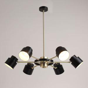 Modern Metal Chandelier 1 Tier 6-lights Chandelier Living Room Dining Room Lighting
