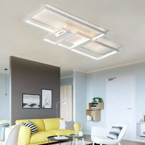 Modern Simple LED Ceiling Light Fashionalal Square Ceiling Light Bedroom Study Light