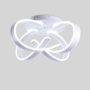 Flush Mount LED Ceiling Light Modern Simple Acrylic Ceiling Light Unique Shape Light Energy Saving Light