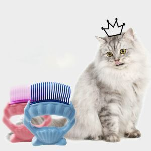 Pet Shell Comb Knot Opening Comb Pet Massage Comb