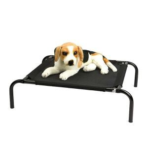 Pet Camp Bed Dog House Cushion Pet Removable Bracket Bed