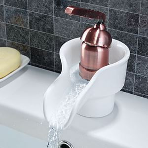 Rose Golden Single Handle Centerset Bathroom Sink Faucet(1039-MA1059)