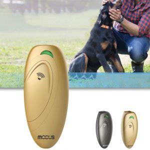 Pet Supplies Handheld Ultrasonic Anti Barking Device Remote Controlled Portable Dog Trainer