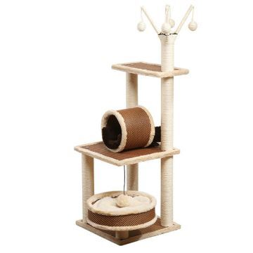 Sisal Cat Climbing Frame Cat House Cat Scratch Board Kitten Jumping ...