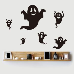 Specter Wall Sticker Halloween Theme Wall Sticker Waterproof Removeable Sticker