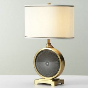 Modern Simple Table Lamp Unique Shape Fixture Desk Light