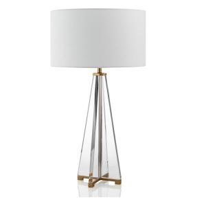 Contemporary Simple Table Lamp Iron Crystal Table Lamp Study Desk Lamp