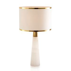 Contemporary Simple Table Lamp Cone Fixture Table Lamp Bedside Study Room White Desk Light