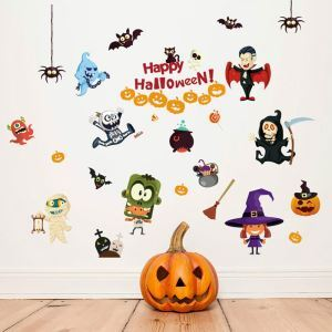 Ghost Wall Sticker Halloween Theme Wall Sticker Waterproof Removeable Sticker