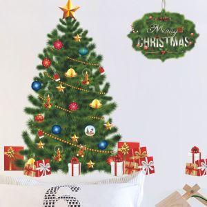 Contemporary Plain Wall Sticker Splendy Christmas Tree Window Sticker