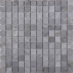Square Ceramic Mosaic Tile Gray Wall and Bathroom Decor Tile