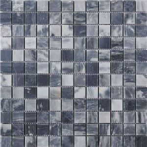 Square Ceramic Mosiac Tile Stitching Dark Gray Wall and Bathroom Decor Tile