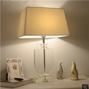 Contemporary Elegant Table Lamp Modern Crystal Table Lamp Dining Room Living Room Desk Light
